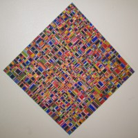 Diamond light, Acrylic on canvas 46cm x 46cm $450